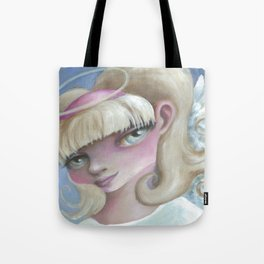 Z imagination Angel Eyes Tote Bag