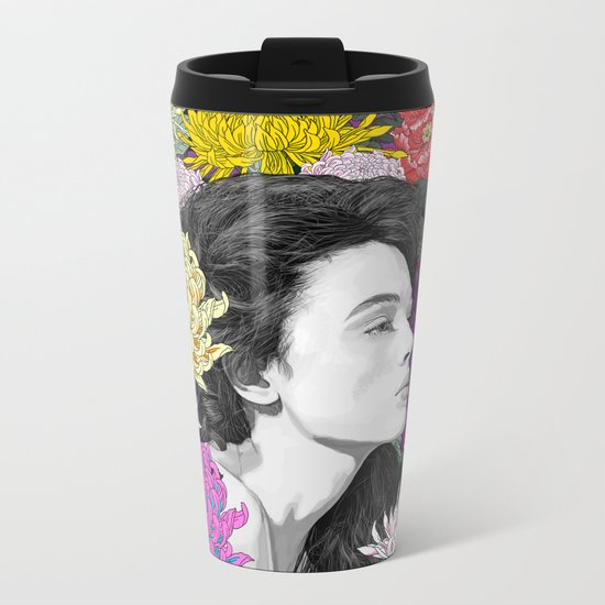 Living In The Moment Metal Travel Mug