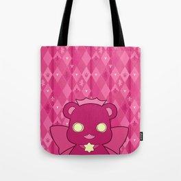Monochromatic Kuma Ginko Tote Bag