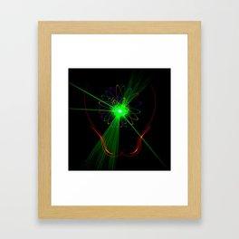 Light show 2 Framed Art Print