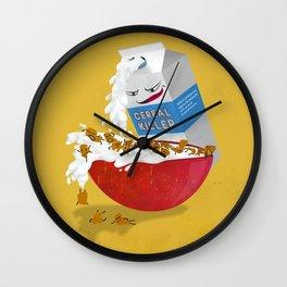 Cereal Killer Wall Clock