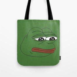 Super Rare Pepe The Frog!  Tote Bag