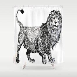 λιοντάρι  Shower Curtain