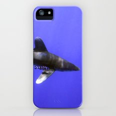 Oceanic Whitetip and Pilot Fish Slim Case iPhone (5, 5s)