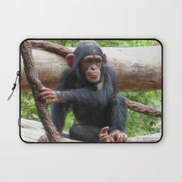 Chimpanzee_20150503_by_JAMFoto Laptop Sleeve