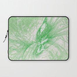 Splatter in Limeade  Laptop Sleeve