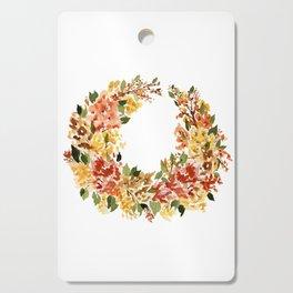 Autumn Crescent Cutting Board