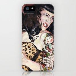 Viva Anna iPhone Case