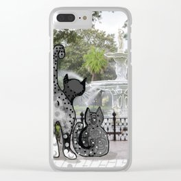 Foray to Forsyth Clear iPhone Case