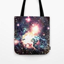 Fox Fur Nebula : Deep Pastels Galaxy Tote Bag