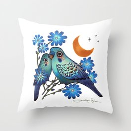 Sweet Chicory Throw Pillow