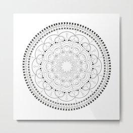 Beautifull mandala Metal Print