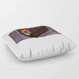 Nostalgia in a Super Nintendo Cartridge Floor Pillow