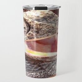 The Laughing Chameleon Travel Mug