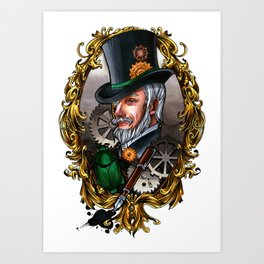 Steampunk Dandy Art Print