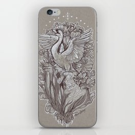 Ascent from the Lotus Forest iPhone Skin
