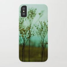 Moody Nature Abstract iPhone X Slim Case