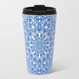 Spring Mandala Travel Mug