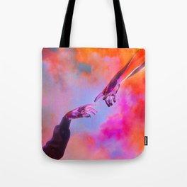 La Création d'Adam - Dorian Legret x AEFORIA Tote Bag