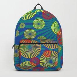 Psychodelic Spirals colorful Backpack