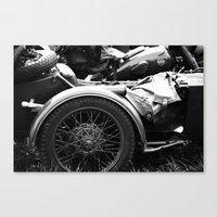 motorcycle Canvas Prints featuring motorcycle by Falko Follert Art-FF77