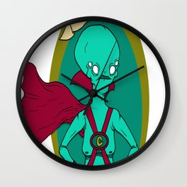 The Great and Powerful Cranius Wall Clock
