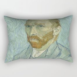 SELF PORTRAIT - VINCENT VAN GOGH Rectangular Pillow