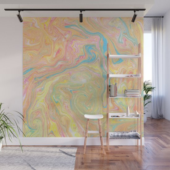 Summer Sherbet Marble by lisaargyropoulos