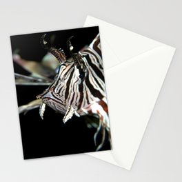 Lionfish in the dark Stationery Cards