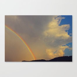 .over the rainbow. Canvas Print