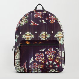 Stained Glass Church Backpack