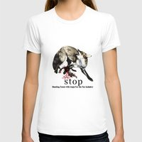 hunting T-shirts featuring Hunting foxes by Design4u Studio