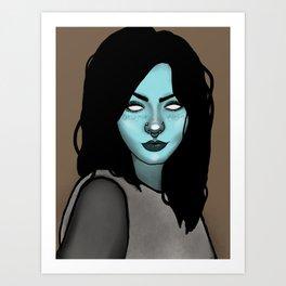 Miranda bloo Art Print