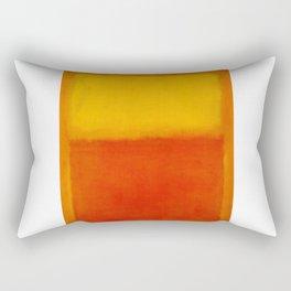 1956 Orange and Yellow by Mark Rothko Rectangular Pillow