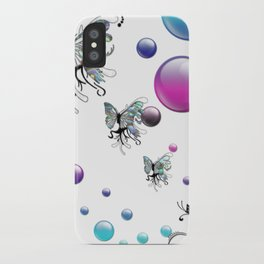 Q The Bokeh Fly iPhone Case