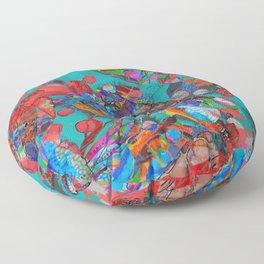 Sea Turtle Rhapsody Floor Pillow
