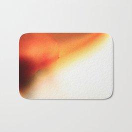 tangerine tangent  Bath Mat