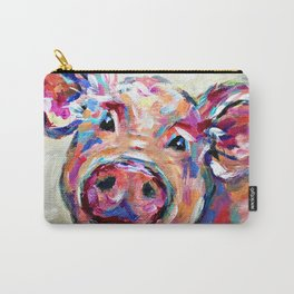 Happy Pig Art Carry-All Pouch
