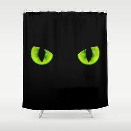 Evil eyes Shower Curtain