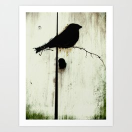 Early Bird - JUSTART © Art Print