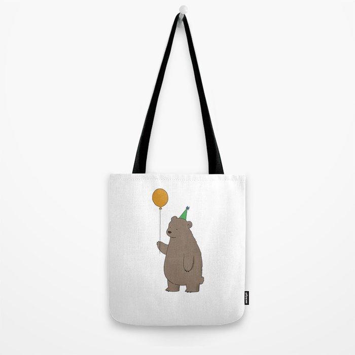 Bear Party Tote Bag