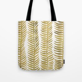 Golden Seaweed Tote Bag