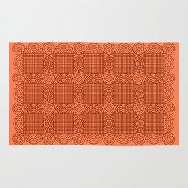 Op Art 18 - Coral Rug