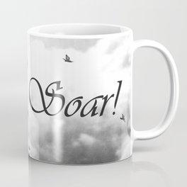 Soar Birds in Flight A610BW Coffee Mug