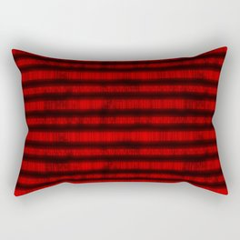 Red Dna Data Code Rectangular Pillow
