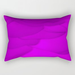Purple wavy surface Rectangular Pillow