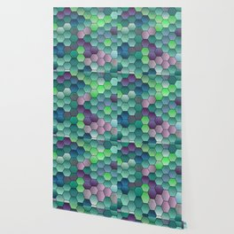 Honeycomb hexagonal Wallpaper
