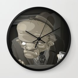 Mr. Sampaio Wall Clock
