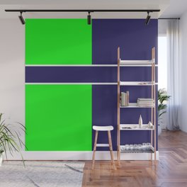 Team Colors...... 6 Lime green /navy Wall Mural