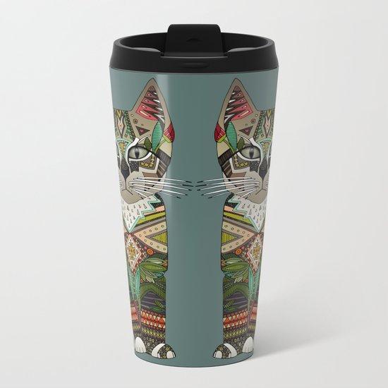 pixiebob kitten juniper Metal Travel Mug